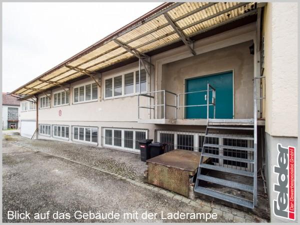 Vielseitig nutzbare Gewerbefläche in der Stadt Traunreut