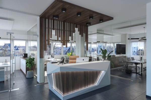 Büro-/Praxisfläche mit Panoramablick