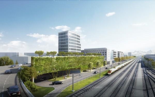 Büro- Praxisfläche über den Dächern Rosenheims