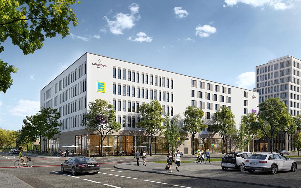 Lokhöfe Rosenheim - neue beste Adresse für ein Büro