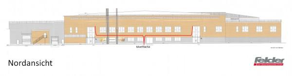 Großzügige Bürofläche in revitalisierter Wartungshalle
