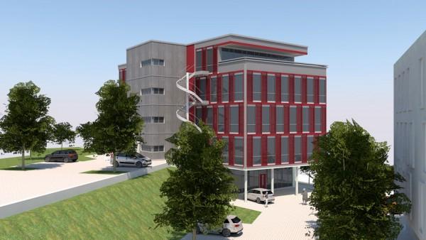 Neubau Büro- / Praxisfläche am Traunsteiner Bahnhof