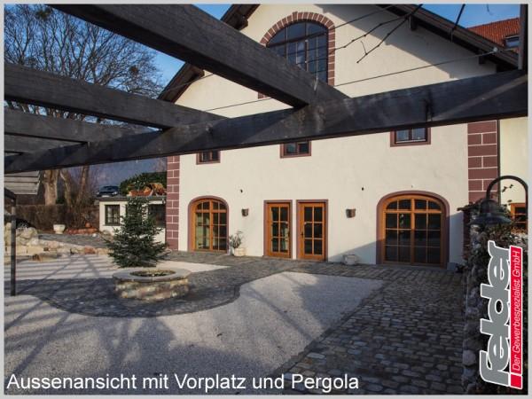 Romantischer Gewölberaum in Inntal