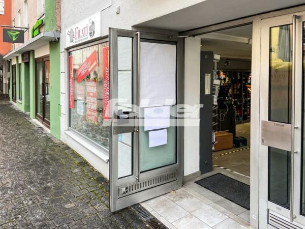 Ladengeschäft in Rosenheims Fußgängerzone