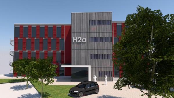Neubau Geschäfts- und Bürohaus am Traunsteiner Bahnhof