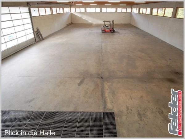 726 m² Halle auf 4.266 m² Grundstücksfläche!