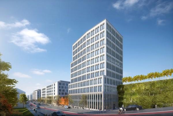 Business-Tower Lokhöfe - Premium Location in Rosenheim