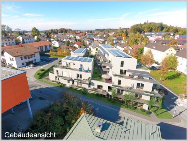 Zur Miete: Ca. 135,40 m² Büro-/Praxisflächen in den Stadt Terrassen Traunstein