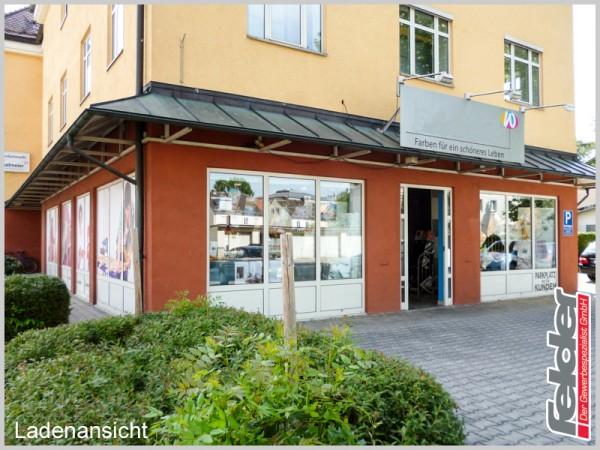 Handelsfläche inklusive Parkplätze in Rosenheim!