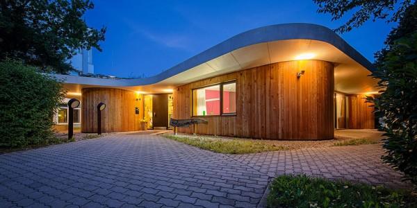 Architektonisch herausragender Kindergarten in Kolbermoor