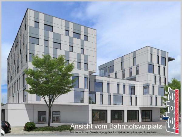 Neubau Geschäftshaus Traunstein