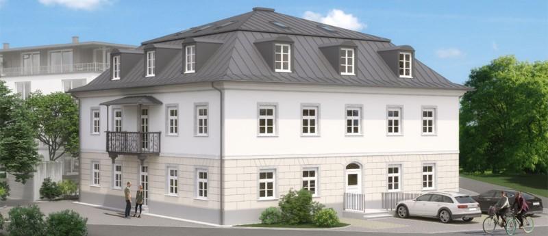 <li>Gewerbevilla in bester Lage in Bad Aibling <li>Neubau, Erstbezug</li>