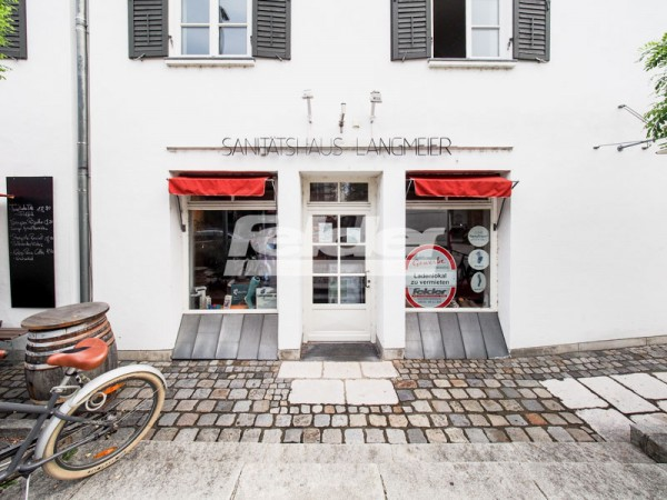 Attraktive Ladenfläche in historischem Gebäude in der Innenstadt Rosenheim