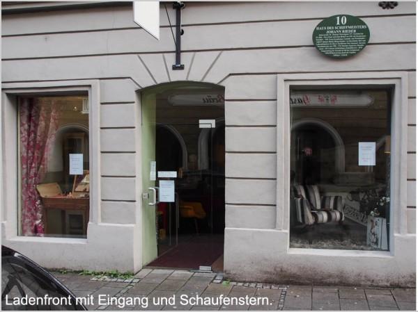 Ladenlokal mit historischem Ambiente