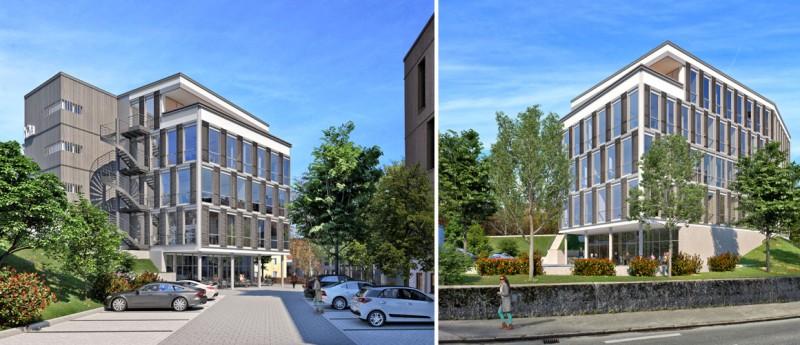 <li>Erstklassiger Bürohausneubau in Traunstein<li>Jetzt Fläche sichern!</li>