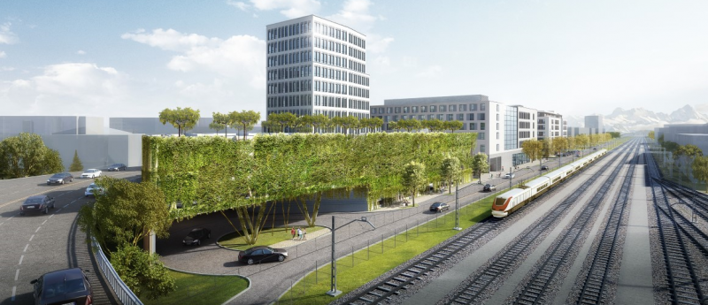 <li>Quartier Lokhöfe <li>Premium Location für Ihr Büro in Rosenheim</li>